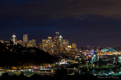 My City (Stephanie Sinclair) Tags: seattle city nightphotography cityscape spaceneedle july2016 stephaniesinclairphotography seattleempress