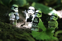 """""""Lay down some cover fire!"""" (kevinmboots77) Tags: lego legography starwars firstorder firstorderstormtroopers stormtroopers"""