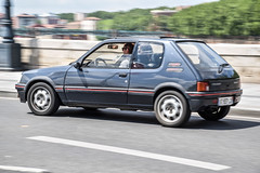 205 GTI (xwattez) Tags: peugeot 205 gti voiture automobile franaise ancienne old french car vhicule transports rue street toulouse france 2016