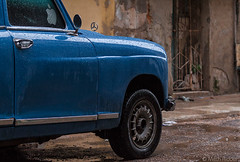 Blue Mercedes (Mitch Ridder Photography) Tags: approved cuba havanacuba islandofcuba cuban caribbean largestcaribbeanisland island havana capitol rain rainyday rainphotography streetphotography workshop photoworkshop travelphotography cameravoyages mitchridder mitchridderphotography mitchridderphotographyallrightsreserved2016 mercedesbenz bluecar
