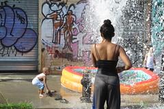 IMG_4362 (Mud Boy) Tags: nyc newyork brooklyn bushwick summer streetscene hydrant graffiti firehydrant streetart