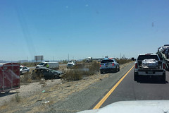 Bad luck (twm1340) Tags: arizona dps state trooper accident i10 interstate wreck highway patrol leo