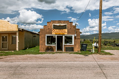 (el zopilote) Tags: tierraamarillo newmexico architecture street townscape signs smalltowns powerlines clouds storefronts canon eos 1dsmarkiii canonef24105mmf4lisusm fullframe wow
