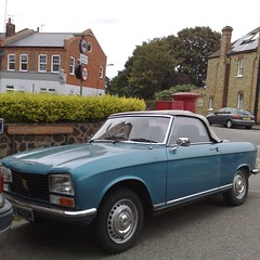 (uk_senator) Tags: 1974 peugeot 304 convertible blue