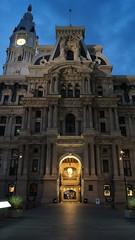 City Hall at dusk DNC 2016 (Philadelphia 2016 Host Committee) Tags: city hall philadelphia philly dnc 2016 dusk night