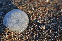 Big Grain of Sand (NikonTreeMonkey) Tags: sand grain beach stein stone summer sommer earth ocean sea strand meer rhodos rodos