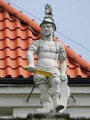 Mstwo / Bravery (Bartosz MORG) Tags: statue posg rzeba sculpture