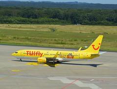 D-AHFT - Boeing 737-8K5 (Digi-Joerg) Tags: 07082016 internationalerverkehrsflughafen kölnbonnairport cgn tuifly boeing737 ersterflug03082000 heimatflughafenhannoverlangenhagen d germany