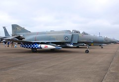 71755  F-4E (AUP) Hellenic Air Force (Gerry Hill) Tags: greece phantom f4 71755 f4e aup hellenic air force andravida ab base greek 339 2016 international tattoo military aircraft airbase jets display gerry hill outdoor vehicle airplane fighter riat raf egva fairford england show airshow