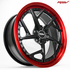 RXV | Matte Black / Candy Red
