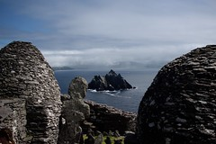 Skellig Beehive Huts (tpatt83) Tags: ireland skellig michael kerry ring puffin beehive hut emerald isle ocean island stone birds star wars force awakens skywalker monestary