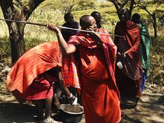 DSCN1262 (David Bygott) Tags: ngorongorocrater nca africa tanzania maasai misigiyo warrior moran oledorup olpul