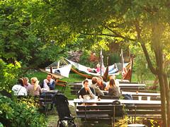 Hermans 8 (Helen White Photography) Tags: hermans restaurant vegetarian stockholm terraced gardens view sunset summer