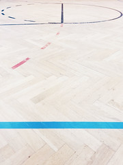 (electricgecko) Tags: iphone mobile basketball court lines graphic hardwood minimal primarycolors
