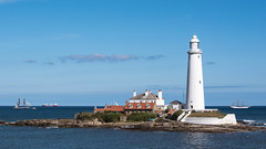 Tall Ships (warth man) Tags: d750 nikon70300mmvr tallships tallshipsblyth2016 sails stmaryslighthouse stmarysisland coast sea northumberland