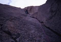 Grade V Diedre on Lower Face (andywalker1) Tags: andrewwalker americandirect dru petitdru chamonix alps alpineclimbing