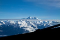 Everest (Crossing China) Tags: nepal kathmandu ktm travel travelphotographer portrait street streetphotography streetportrait himalayas mounteverest mountains mountain mountainflight shadow girl cute nepali nepalese sunset
