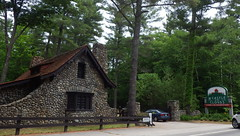 Summer in New England - IMGP5423 (catchesthelight) Tags: nh summer newengland charm stonebuilding historic castleintheclouds woods green stonewalls roadside travel rt171 northernne moultonboro ossippeemts