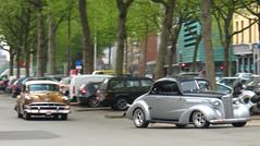 1954 Chevrolet Bel Air & Ford V8 (?) (rvandermaar) Tags: ford chevrolet belair air 1954 chevy bel v8 chevroletbelair fordv8 1954chevroletbelair