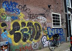 graffiti amsterdam (wojofoto) Tags: streetart amsterdam graffiti bust neks wolfgangjosten wojofoto