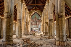 St Anne's Church (selvan.kalai) Tags: church architecture gothic hdr virajpet tamron1755f28 canon1000d