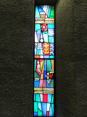 Coventry Cathedral (pefkosmad) Tags: window cathedral sweden stainedglass coventry anglican nationalsymbols churchofengland einarforseth