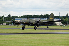 "B17 Bomber ""Sally B"" (S Walker) Tags: show b aircraft air historic sally airshow b17 international bomber fia farnborough 2016"