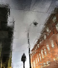 Puddlegram (13) (Mark Fearnley Photography) Tags: reflection art rain puddle fineart flip iphone iphoneography shotoniphone iphone6 puddlegram mobiography