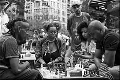 L1024929 B&W (Damien DEROUENE) Tags: street leica nyc people newyork chess mm monochrom unionsquare damienderouene