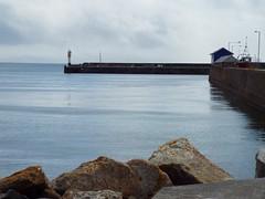(Samantha.Rose.Wilding) Tags: harbour lighthouse seaside peir cornwall penzance ocean horizon landscape water sea blue red white rocks zoom