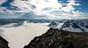Suliskongen (Christian Nesset) Tags: summer panorama sun snow norway norge nikon skiing view glacier utsikt nordnorge d800 nordland fauske sulitjelma suliskongen