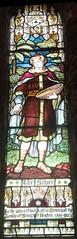 Church of St  Mary the Virgin,  Seaham: stained glass window (John Steedman) Tags: stmarythevirgin seaham church uk unitedkingdom england   greatbritain grandebretagne grossbritannien      stainedglasswindow stainedglass window