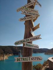 Mulhacen,22 Kms (aliciap.clausell) Tags: detroit panama australia japon alaska tibet kilometros distancias caminos granada espaa spain embalse pantano aventura indicador paises viajar