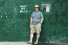 Post No Bills (Throwingbull) Tags: new york city nyc urban ny sign bill post bills no william irony ironic