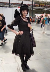 Hyper Japan 2016 22 (Terterian - A million+ views, thanks.) Tags: kensington london capital city uk olympia victorian exhibition centre venue hyper japan 2016 july japanese nippon nipponese culture pastel childlike innocent costume tradition festival art music martial pretty beautiful sexy lolita lollita girls female woman attractive happy smile alternative fashion fashionable models black dark angel lips