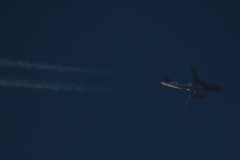 HA-LYI (Rob390029) Tags: blue sky plane flying high top aircraft aviation air transport flight over jet civil transportation transit airline underside airbus airborne ott airliner civilian a320 wizz wzz halyi