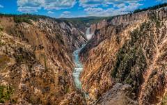 Artist Point (Paul Domsten) Tags: artistpoint yellowstonenationalpark yellowstone waterfall cliff canyon wyoming pentax landscape grandcanyon