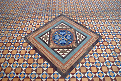 Tilework (VinayakH) Tags: india gardens royal palace hyderabad royalpalace nizam telangana chowmahallapalace