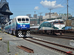 Faces of Seattle (Robby Gragg) Tags: sounder f59phi 908 amtrak cascades npcu 90253 seattle