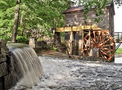 Grist Mill (John Rosemeyer) Tags: stonemountainpark stonemountain stone mountain park georgia canonpowershotsx10is gristmill grist mill