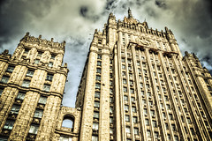 Ministry of foreign affairs, Russian Federation (Gabrielradio) Tags: rosso minister moscow important majestic stalin fake antani hdr cool
