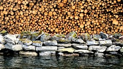 Ingen tmmermenn -|- No timber men (erlingsi) Tags: timber tmmer sj sea rocks steiner rsta noreg norway trelag three layers norwegen
