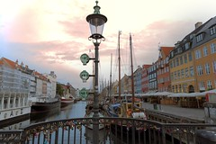 Good morning Copenhagen (yuanxizhou) Tags: photos photography travel colors nyhavn historical architecture scenery light tie bridge locker canal denmark copenhagen europe urban city sky sunrise