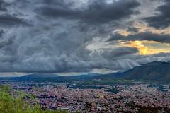 IMG_1954 (rainb0wspirit) Tags: cloud clouds landscape mountains nature rain sky summer sun sunset sunshine