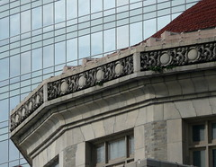 architecture past and present (D G H) Tags: daveheston downtown seattle architecture building