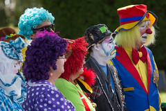 showmens rest. august 2016 (timp37) Tags: clowns zantiny showmens rest illinois august 2016 forest park woodlawn cemetary