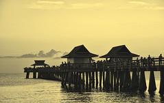 Always There With Me... (DigitalLUX) Tags: sunset sundown dusk afternoon summer pier beach sky sand sun