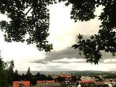 Blick ber Kempten (Allgu) vom Birkensteig aus Gesehen (bildkistl) Tags: blick kemptenallgu birkensteig gesehen