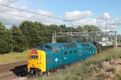 D9009 + D213 0Z56 (Neil Altyfan - Railway Photography) Tags: d9009 alycidon d213 andania 0z56 grosmont nymr crewegrestybridge drs crewe caseylane 050716
