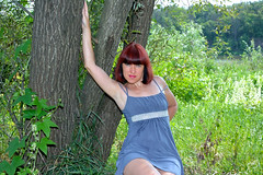DCS (79) (dmitriy1968) Tags: portrait  nature  beautiful girl wife  people evening erotic sexsual   summer   river   swimsuit  tan  dress